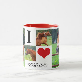 I Love BOGO Colts Coffee Mug 1