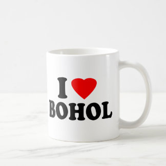 I Love Bohol Coffee Mug