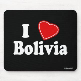 I Love Bolivia Mouse Pad
