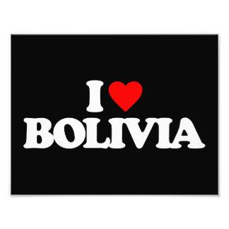 I LOVE BOLIVIA PHOTO ART