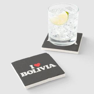 I LOVE BOLIVIA STONE COASTER