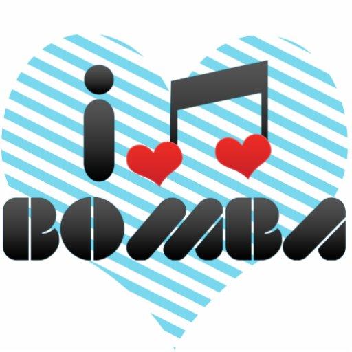 I Love Bomba Acrylic Cut Outs