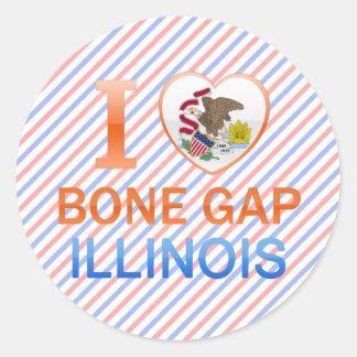 I Love Bone Gap, IL Sticker