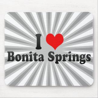 I Love Bonita Springs, United States Mouse Pad