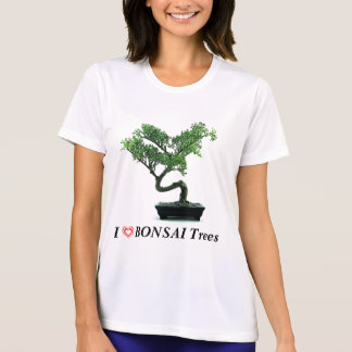 I Love Bonsai Trees T-Shirt