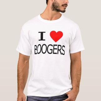 I Love Boogers T-Shirt