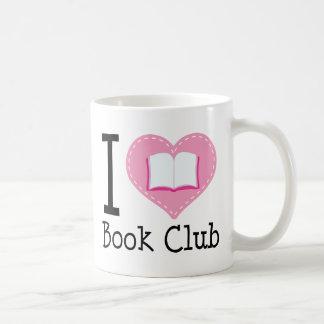 I Love Book Club Coffee Mugs