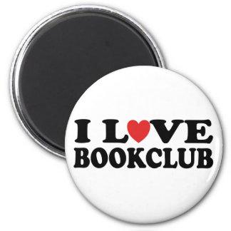 I Love Bookclub Magnet