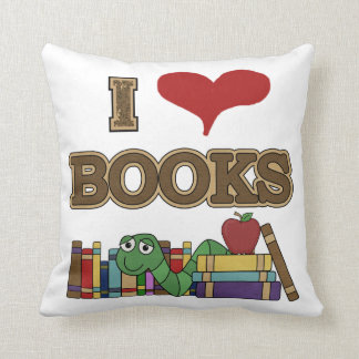 I Love Books Cushion