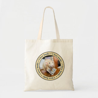 I Love Books - Featuring Marty Mouse Tote Bag