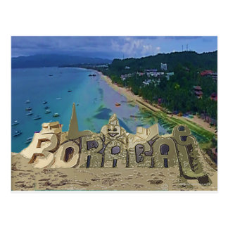 I love Boracay Postcard