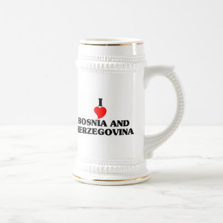I Love Bosnia and Herzegovina Coffee Mug