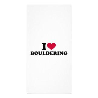 I love Bouldering Photo Greeting Card