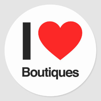 i love boutiques stickers
