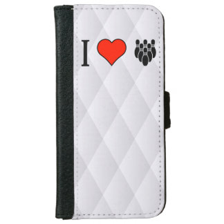 I Love Bowling iPhone 6 Wallet Case