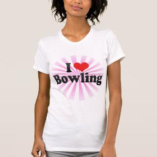 I Love Bowling Tees