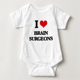 I love Brain Surgeons Baby Bodysuit