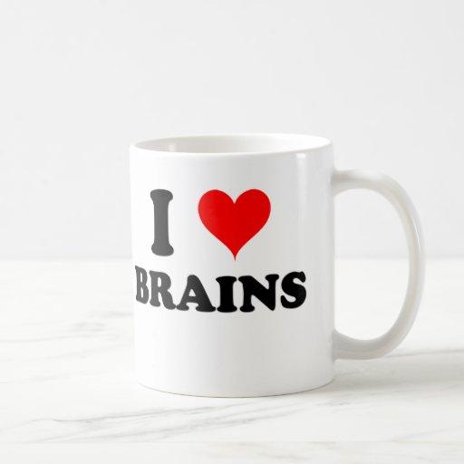 I Love Brains Mugs