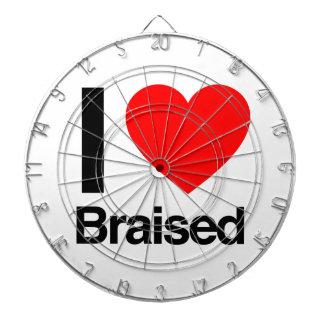 i love braised dart boards