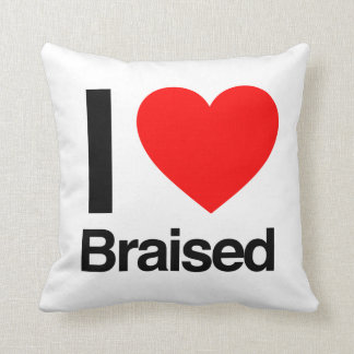 i love braised throw cushions