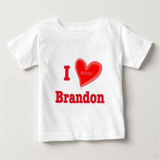 I Love Brandon Baby T-Shirt
