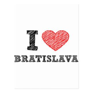 I love Bratislava Post Cards