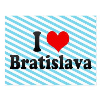 I Love Bratislava Slovakia Post Card