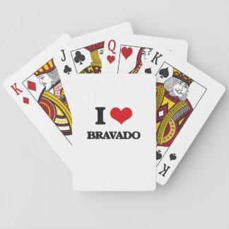 I Love Bravado Poker Deck