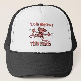 I love BRAXTON this much Trucker Hat