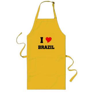 I love Brazil Long Apron