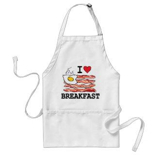 I Love Breakfast Adult Apron