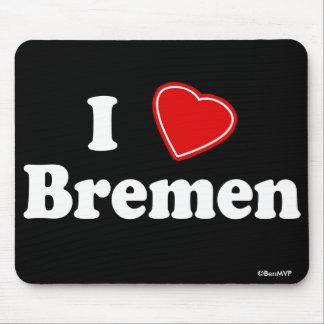 I Love Bremen Mouse Pad