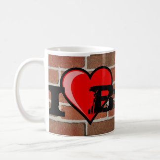 I love Brick Basic White Mug