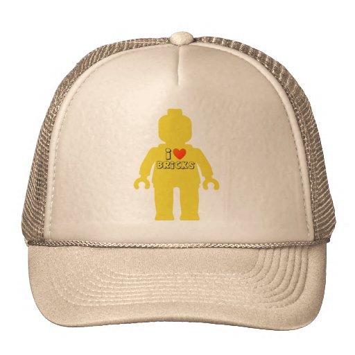 I Love Bricks Minifig Trucker Hat
