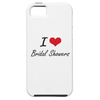 I Love Bridal Showers Artistic Design iPhone 5 Cases