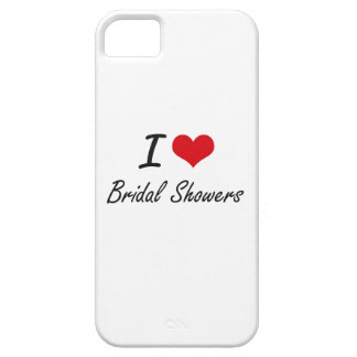 I Love Bridal Showers Artistic Design iPhone 5 Cover