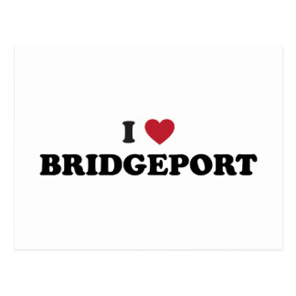 I Love Bridgeport Connecticut Postcard