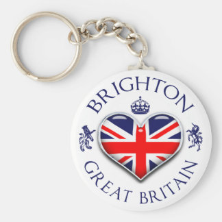 I Love Brighton Key Ring
