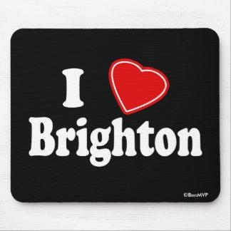 I Love Brighton Mouse Pad