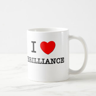 I Love Brilliance Basic White Mug
