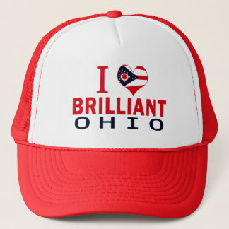 I love Brilliant, Ohio Trucker Hat