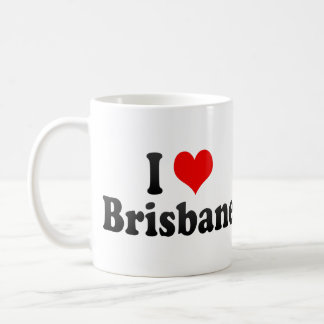 I Love Brisbane, Australia Coffee Mug