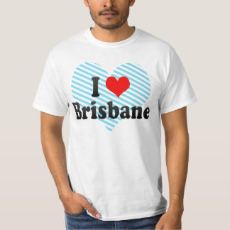 I Love Brisbane, Australia T-Shirt