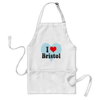 I Love Bristol, United Kingdom Apron