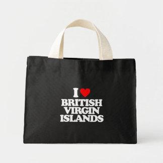 I LOVE BRITISH VIRGIN ISLANDS TOTE BAG