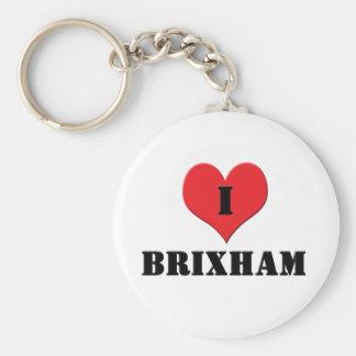 I Love Brixham Key Ring