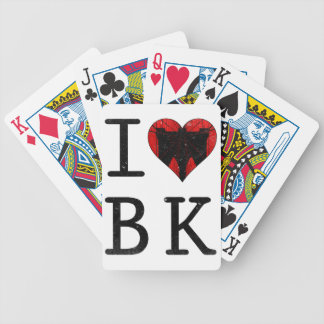 I Love Brooklyn, BK New York Bicycle Playing Cards