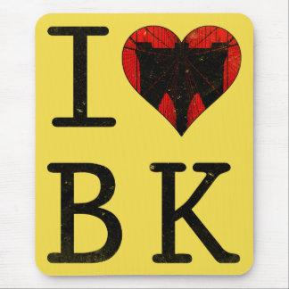 I Love Brooklyn, BK New York Mousemat
