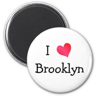 I Love Brooklyn Refrigerator Magnet