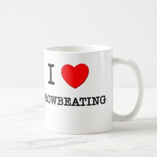 I Love Browbeating Coffee Mugs